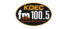 Jessica Holtan female voice over for KDEC FM 100.5